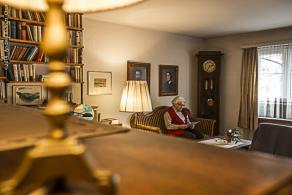 Eine hindernisfreie Wohnung ermöglicht das Wohnen zu Hause bis ins hohe Alter.